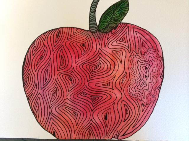 watercolor mandala series