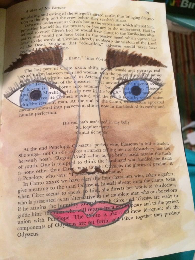 book portrait series