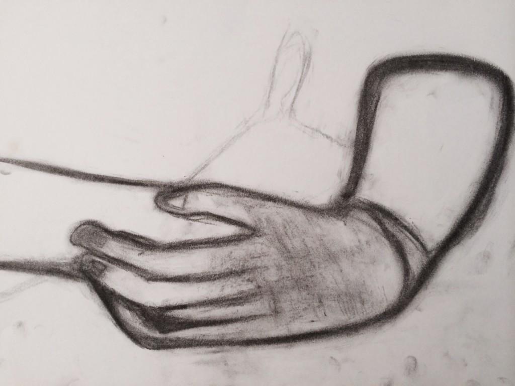 hands, 8th grade artist