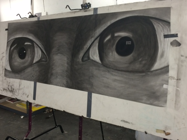 Large Scale Drawing of My Eyes
