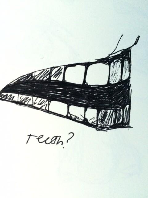 teeth sketch