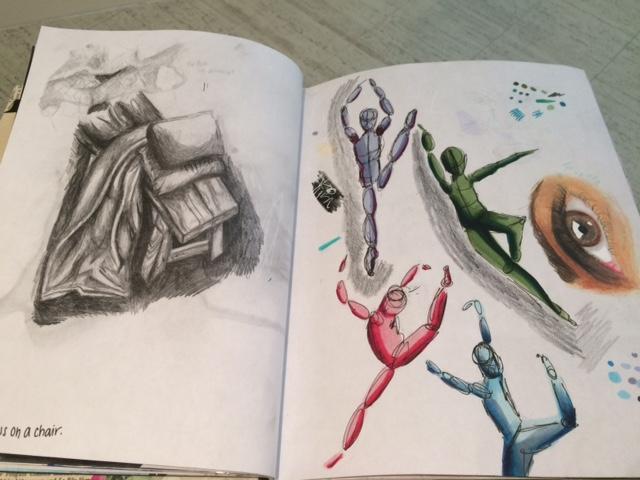 pencil sketch from my sketchbook